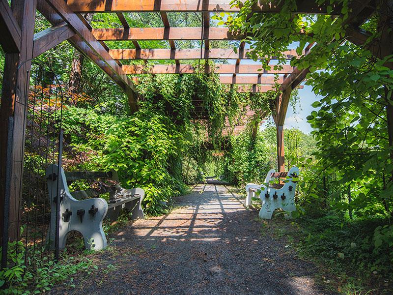 Plan du jardin jardin roger van den hende for Ca vient du jardin